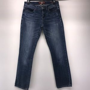 LUCKY Sofia Straight Ankle Jeans 6/28